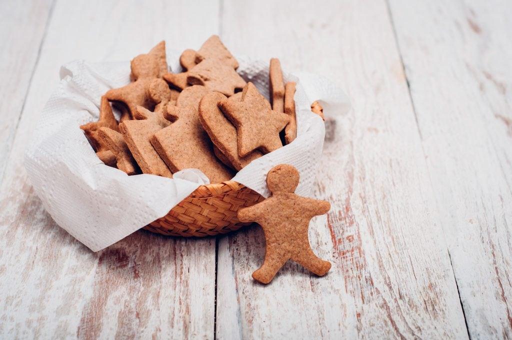 Brunkager or Danish Brown Cookies
