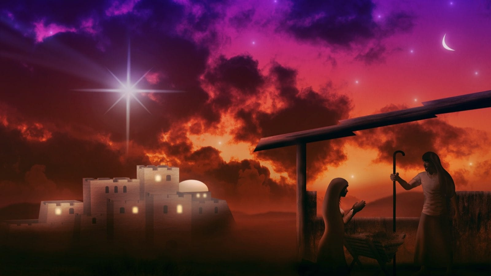 The Christmas Story for Kids (Birth of Jesus Christ)