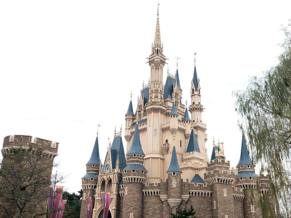 Disneyland of Tokyo Japan