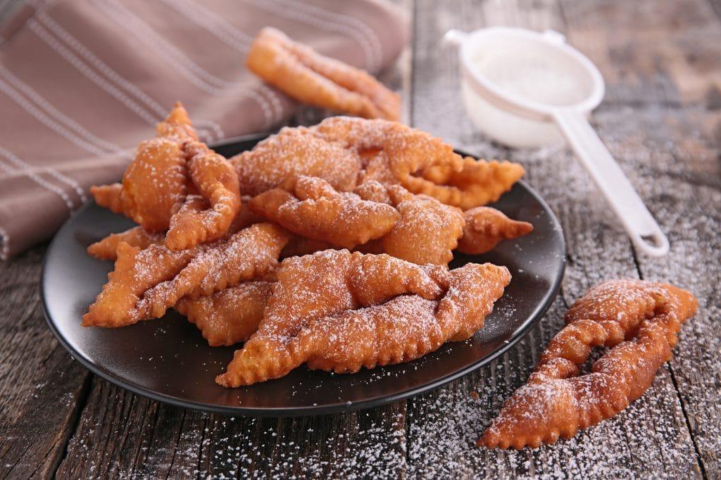 Grandmas Klejner Cookies