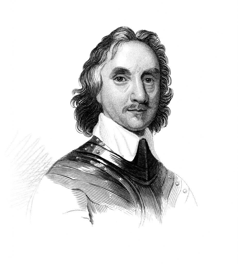 Illustration of Oliver Cromwell