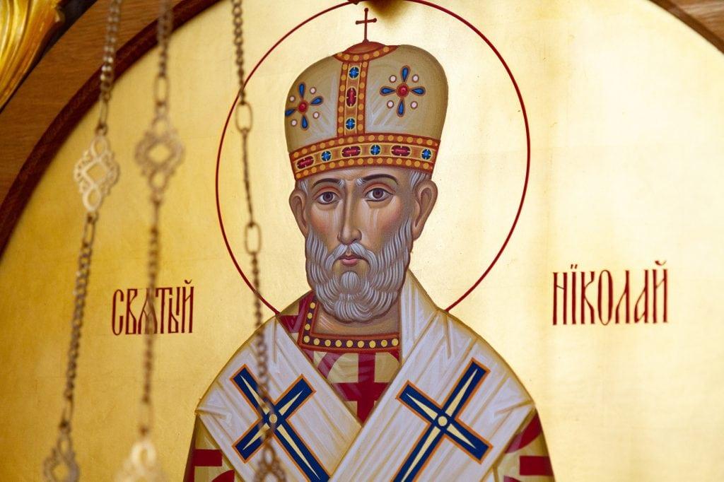 Saint Nicholas of Myra aka Nicholas of Bari or Nicholas the Wonderworker