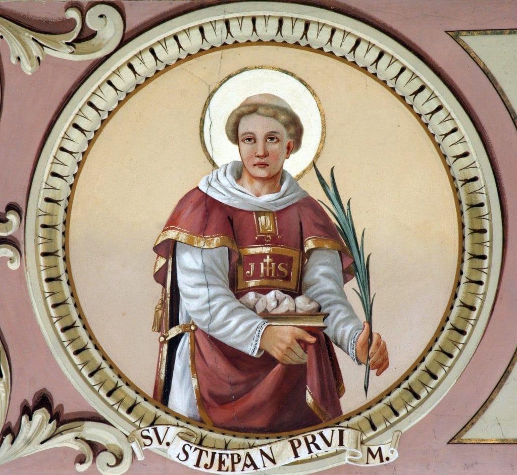 Painting of Saint Stephens