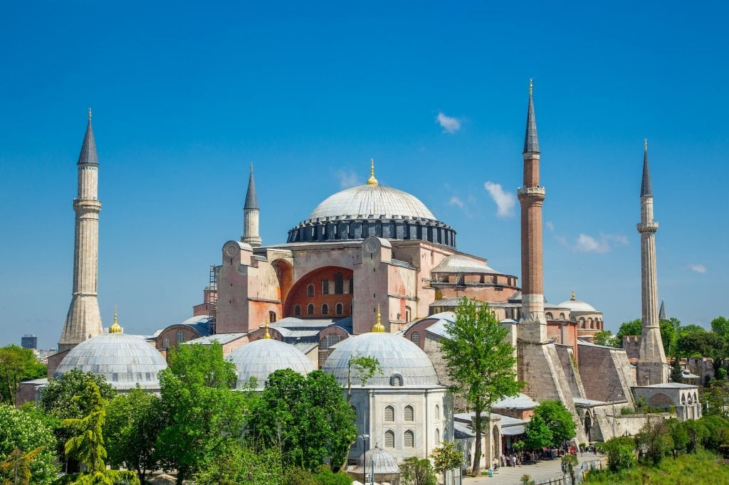 Picture of St. Sophia Cathedral, Istanbul, Turkey.