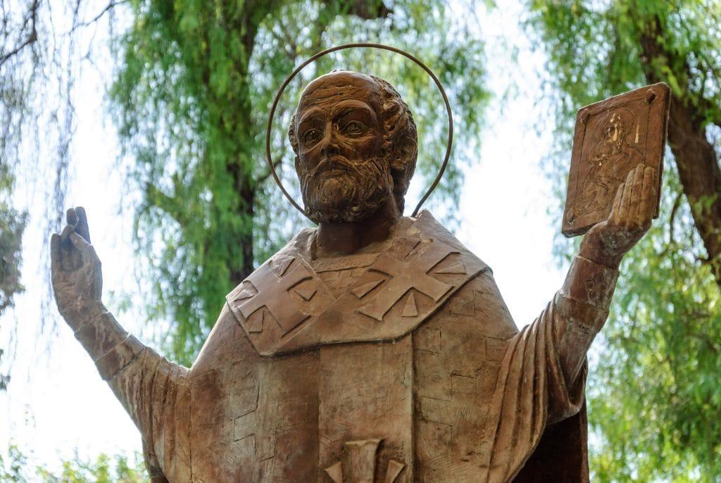 Statue of St. Nicholas in Demre Turkey