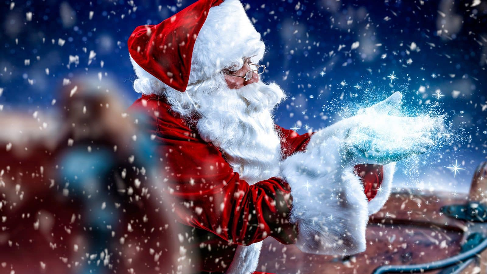 The Story of St. Nicholas, Santa Claus and Father Christmas